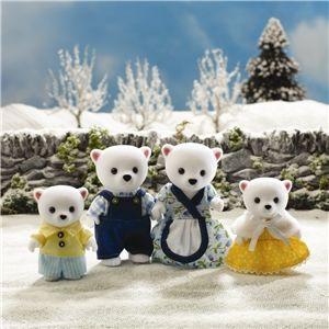 Sylvanian Families: Polar Bear Family