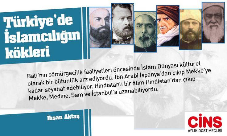 #GönlünüzünCinsi @ihsanaktas Türkiye'de İslamcılığın köklerini yazmaya başladı Cins için. Mart sayısında..