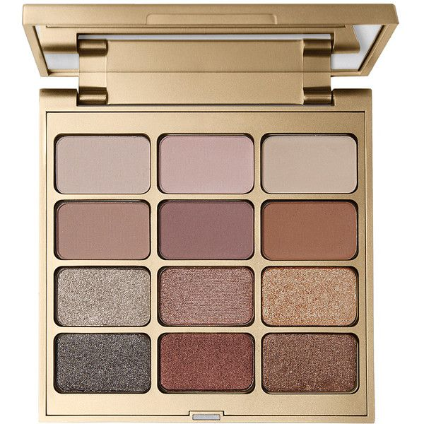 Stila Matte 'n Metal Eye Shadow Palette ($43) ❤ liked on Polyvore featuring beauty products, makeup, eye makeup, eyeshadow, beauty, fillers, stila eye shadow, stila, palette eyeshadow and stila eyeshadow