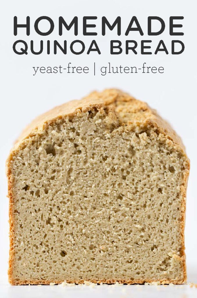 Gluten Free Yeast Free Bread Recipe Simply Quinoa Recipe In 2020 Quinoa Bread Simply Quinoa Protein Bread