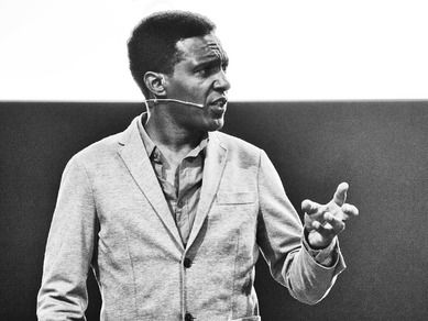 """Lemn Sissay - A Child of the State [""""You can define how good a democracy is by how it treats its child - not its children - but its child of the state.""""]"""
