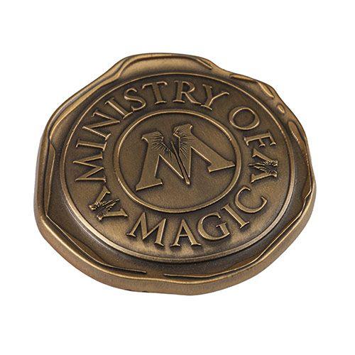 Ministry Of Magic Seal Pin