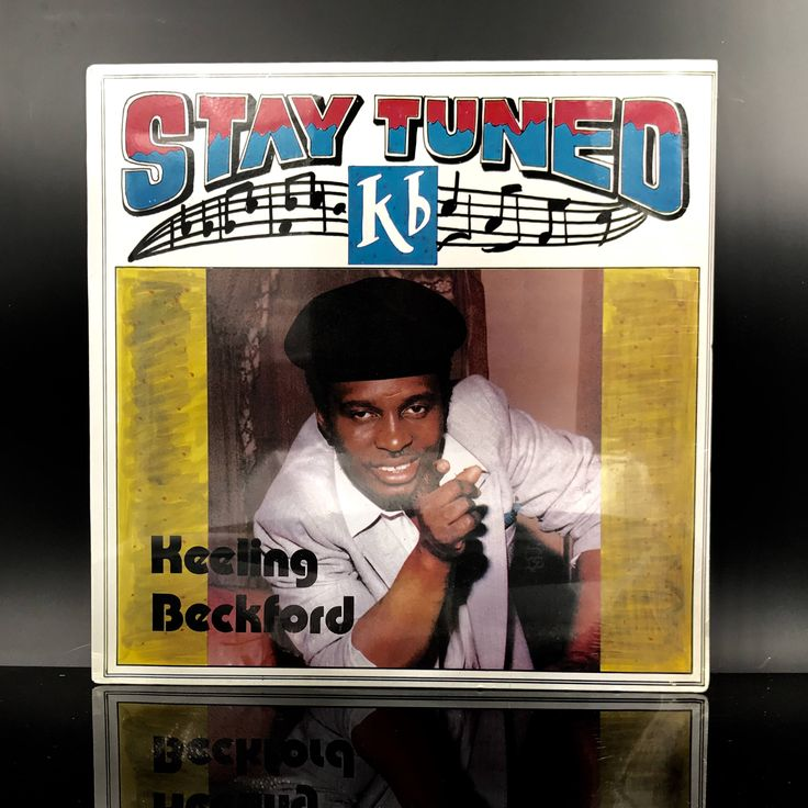 RARE: Keeling Beckford - Stay Tuned - Reggae Vinyl Record - Dancehall LP by VinylLoversUnite on Etsy