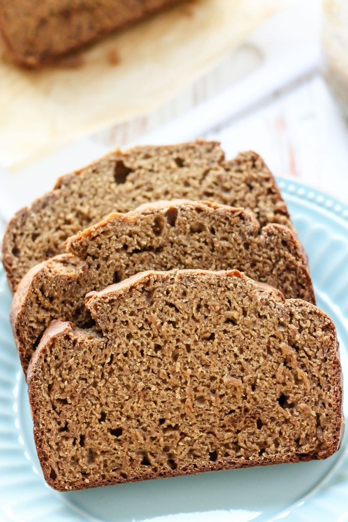 A classic recipe made with wholesome ingredients, this Healthy Whole Wheat Banana Bread is dairy-free, contains no oil, and still 100% delicious!
