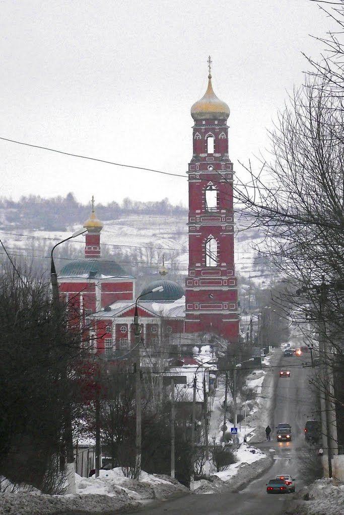Георгиевская церковь в Болхове.