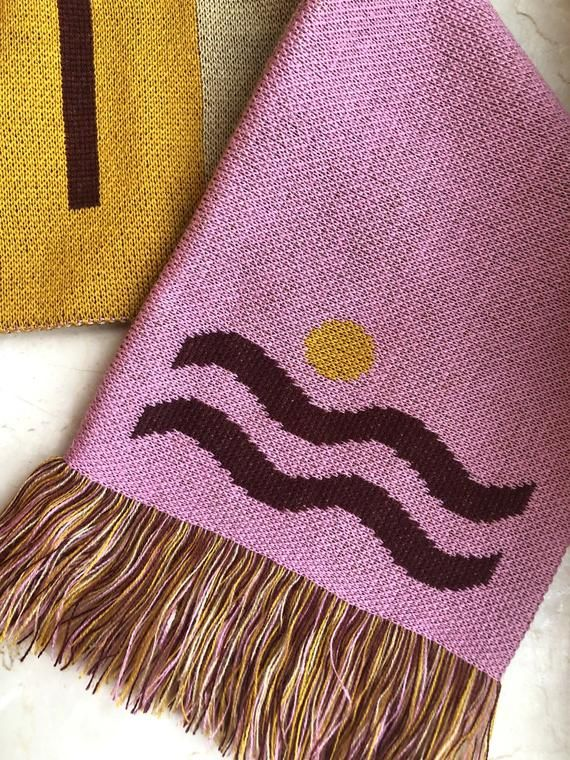 Download Tela Wave Vamos A La Playa Special Edition Fan Scarf For All Summer Lovers Scarf Design Mermaid Gang My Design