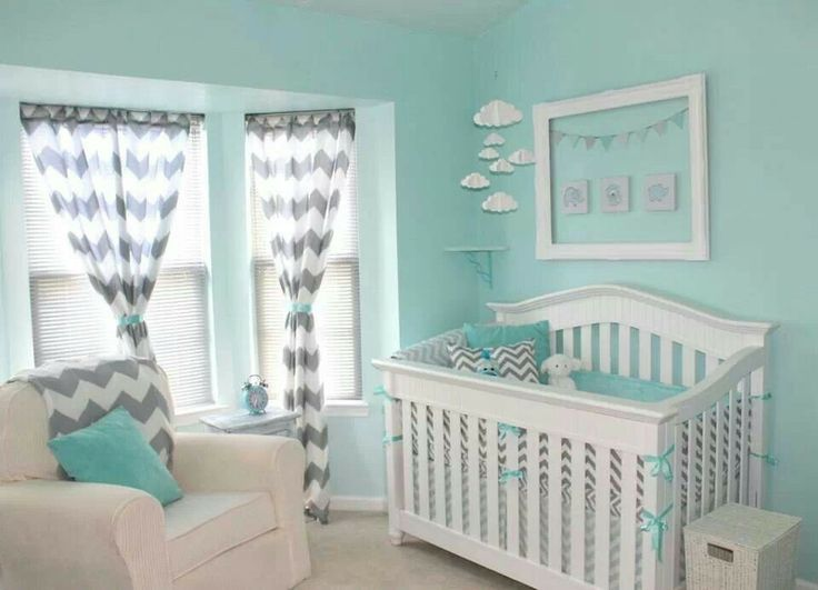 Captivating Gorgeous Tiffany Blue And Gray Chevron Nursery | Nursery | Pinterest | Gray  Chevron Nursery, Grey Chevron And Nursery