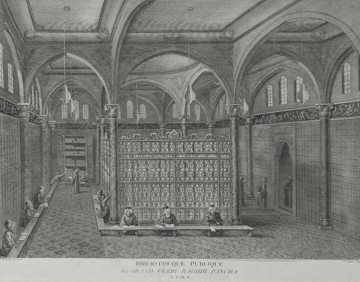 Osmanlı kütüphanesi