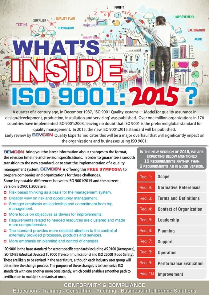 11 best iso 9001 images on pinterest business management bemcon brings latest information about iso 9001 2015 so come to join us for free fandeluxe Image collections