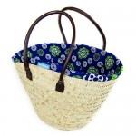 Blue and Green Kanga Basket