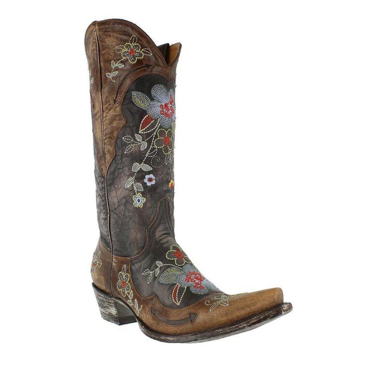 """Old Gringo Women's Bonnie 13"""" Western Boots EEEK! $520! Pretty though"""