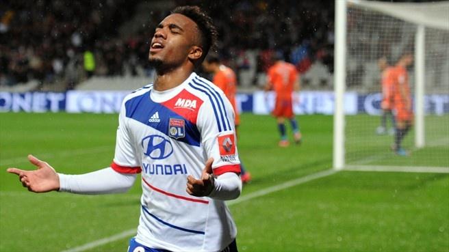 Alexandre Lacazette (Olympique Lyonnais) - Lyon vs Bastia 5-2 - Ligue 1 2012/2013