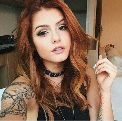 #ruiva #redhead #hair                                                                                                                                                     More