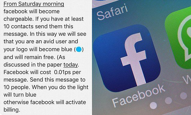WhatsApp and Facebook will NOT start charging