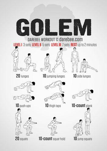 Golem Workout