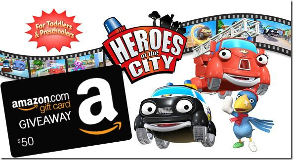 Heroes of the City $50 Amazon Giveaway #HeroesWin50 Ends 7/31 - XtremeQpon