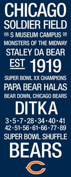 Chicago Bears Wall Art 25+ best chicago bears pictures ideas on pinterest | chicago bears