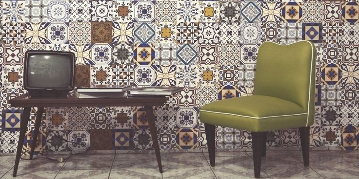 Adesivos que imitam azulejos, a nova febre #PraCasa
