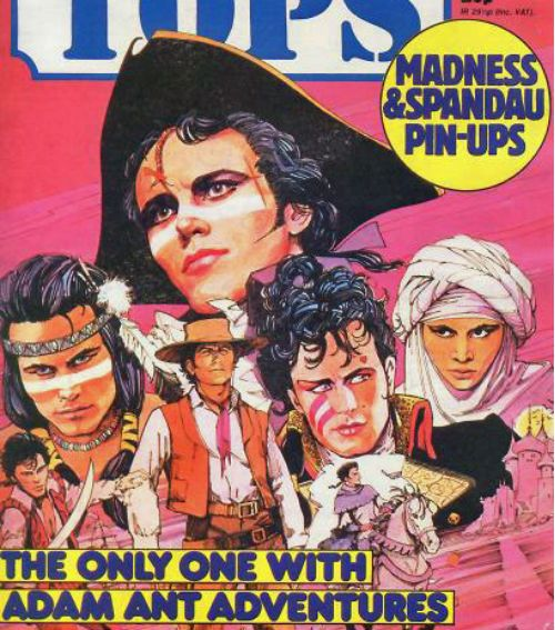 The Fantastic Comic Book Adventures of Adam Ant, 1982 - who knew he had a comic book?