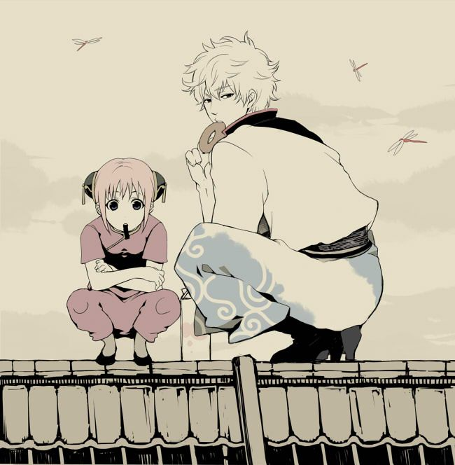 gintoki and kagura relationship goals