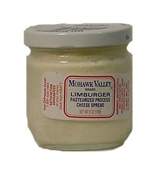 Kraft Mohawk Valley Limburger  Cheese Spread. I miss this stuff :( Stinky but good