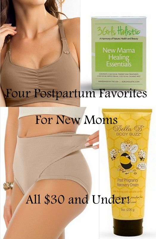 Four Postpartum Favorites For New Moms (All $30 and Under!)