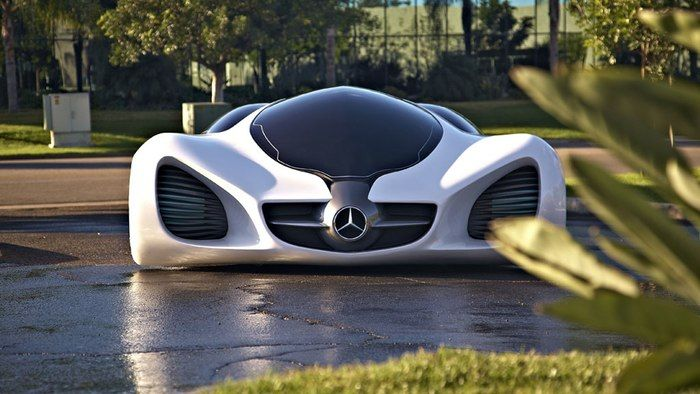 Mercedes-Benz BIOME Concept – could cars be grown in a lab?