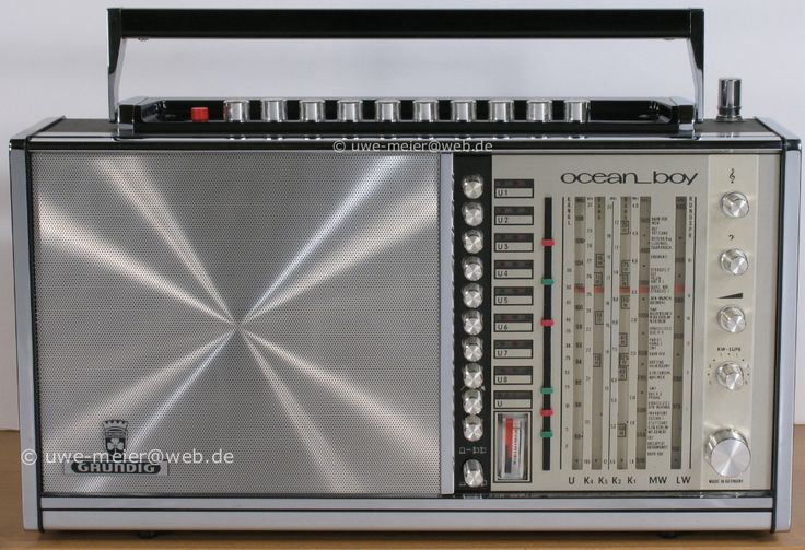 Grundig Ocean Boy 210 Transistor 3005 Radios Pinterest