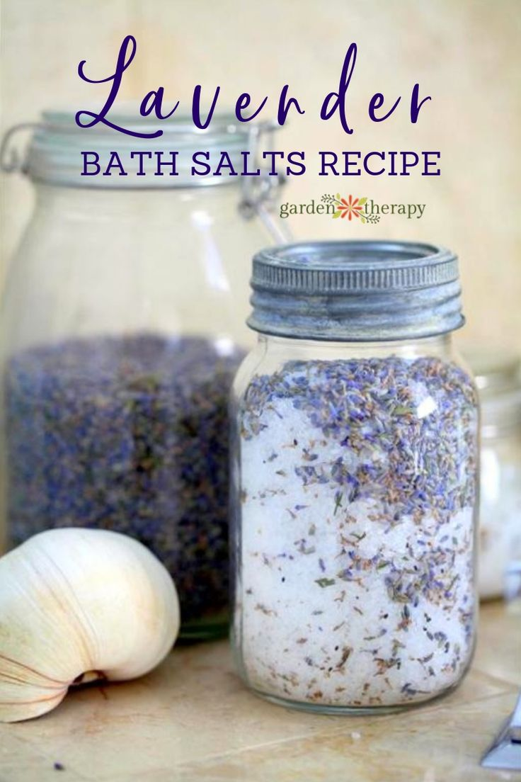Easy Homemade Lavender Bath Salts Recipe