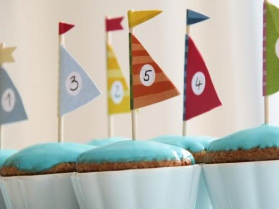 Free Downlaod - Cupcake toppers Sailing boats - Segelschiffe.