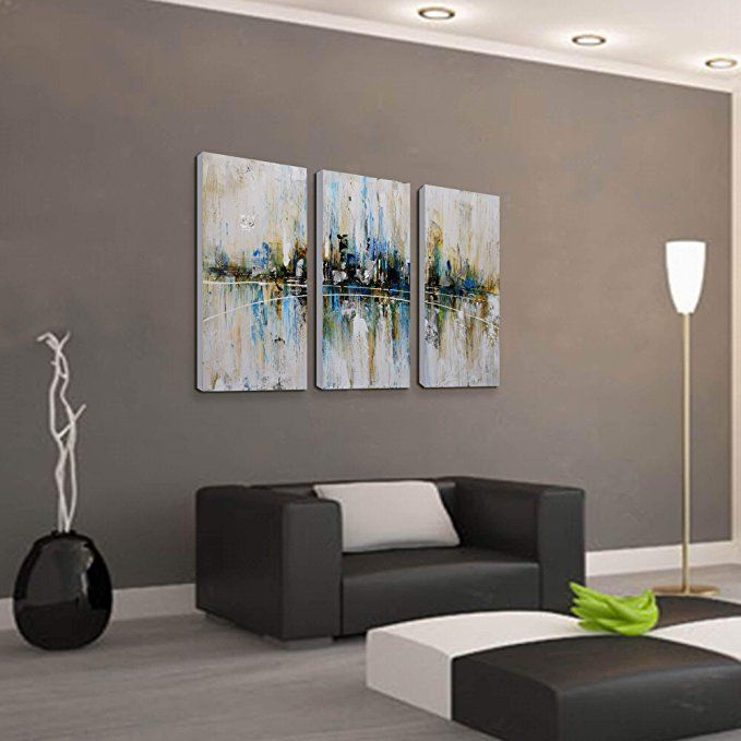 Artland Canvas Wall Art For Living Room 3 Piece Pictures Ready To Hang Wall Decoratio Wall Art Decor Living Room Wall Art Living Room Wall Painting Living Room Wall paintings for living rooms