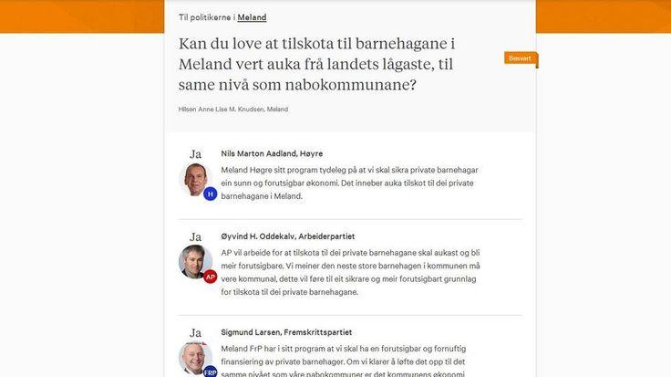Politikarane svarer deg på #kandulove - Strilen.no