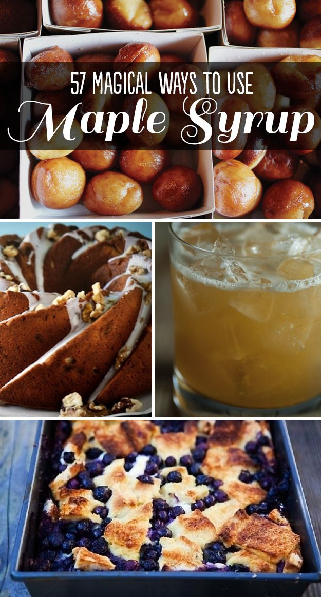 57 Magical Ways To Use Maple Syrup