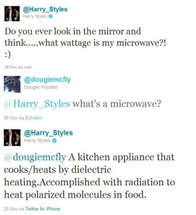 wow.. best intellectual respond by Mr. Styles.