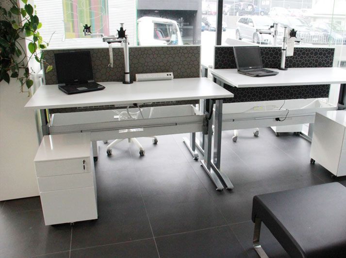 Stance electric desk pod by Fuze Business Interiors