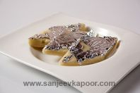 Badam Katli-Traditional Indian sweet made from almonds.
