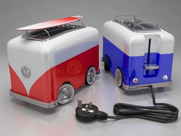 images of volkswagen toasters vw toaster van world of. Black Bedroom Furniture Sets. Home Design Ideas