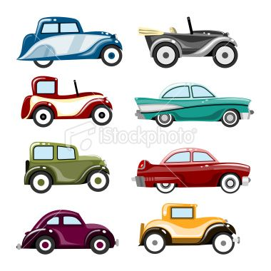 Classic Car Illustration Royalty Free Stock Vector Art Illustration 15 credits