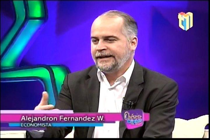 Aprendiendo Economía con Alejandro Fernandez W. en Chevere Night
