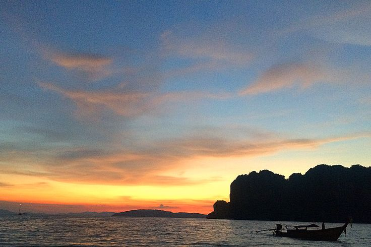 Sunset at Railay is nothing short of spectacular.