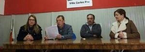 La UCR cordobesa expresó en Carlos Paz su malestar con el PRO