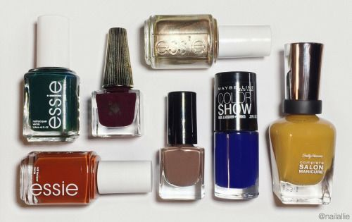 NAIL ART TENDANCE 2017  Decided to put together a list of nail polishes that Im excited  NAIL ART DESIGNS & TENDANCES Decided to put together a list of nail polishes that Im excited to wear this fall!
