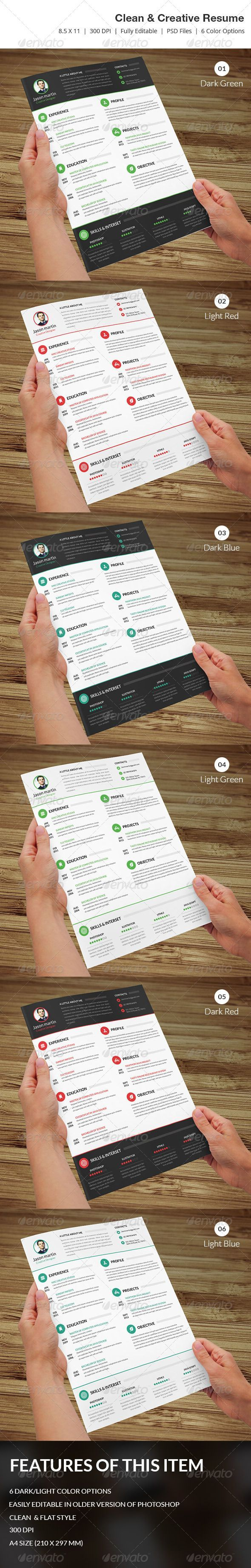 Functional Resume Template Microsoft%0A Flat  u     Minimal Resume Template PSD  Download here  http   graphicriver