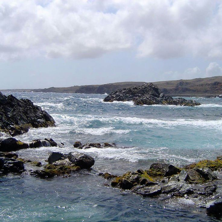 The northcoast of Aruba caribbean travel nofilter