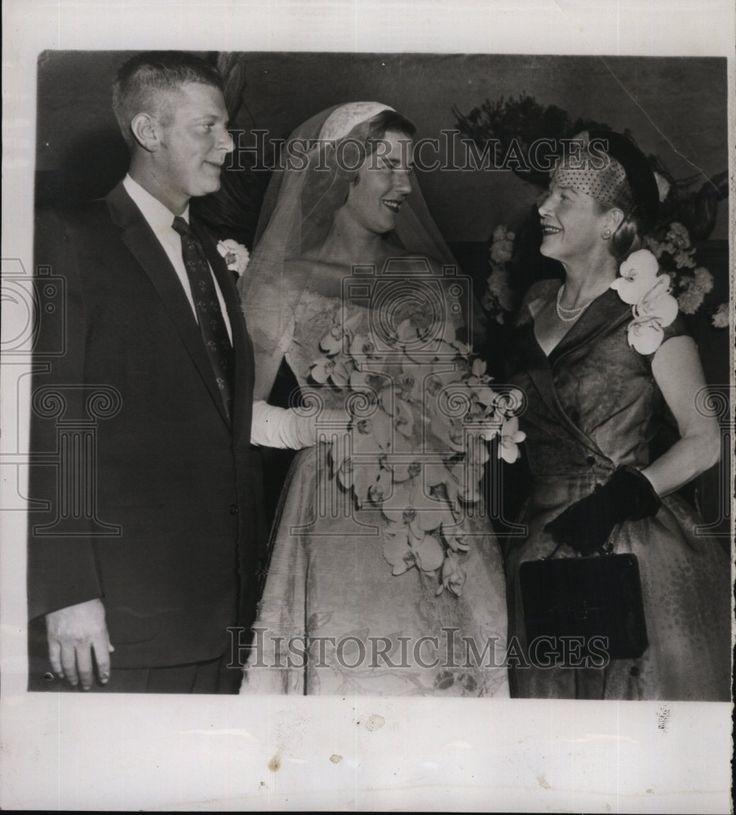 1955 Press Photo Acrtress Ann Harding, daughter Jane Harding, Alfred Otto, Jr. - Historic Images