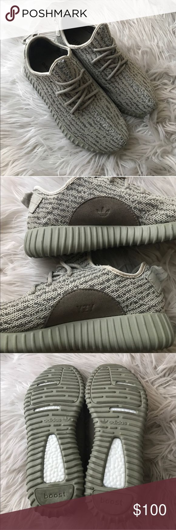 Adidas Yeezy Boost Price reflects authenticity. Very clean & comfy. adidas Shoes Athletic Shoes