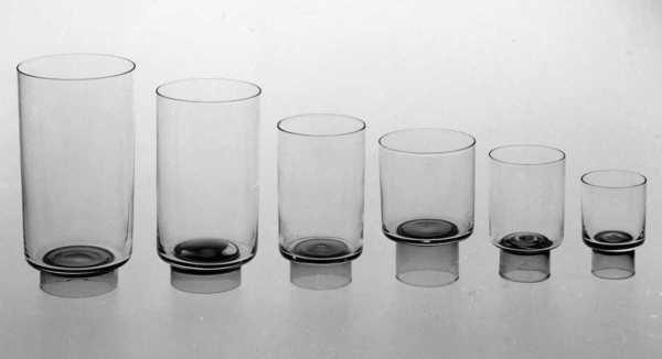 Arnejon, drikkeglass, 1960. Nasjonalmuseet. Designer Arne Jon Jutrem for Hadeland