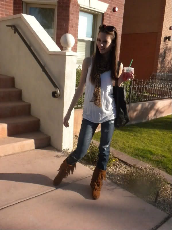 boot outfit | notorious fashion: new fringe boots