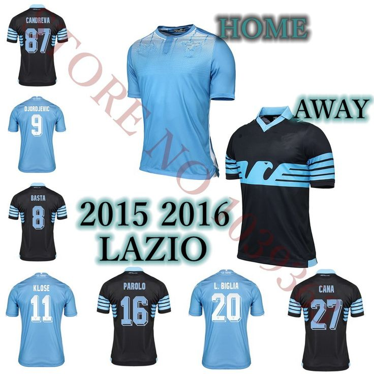 Great item for everybody.   2015 2016 Lazio jersey 15 16 home away thai quality camiseta football shirts KLOSE CANDREVA F.ANDERSON BASTA BIGLIA - US $16.43 http://mysportsoutdoors.com/products/2015-2016-lazio-jersey-15-16-home-away-thai-quality-camiseta-football-shirts-klose-candreva-f-anderson-basta-biglia/