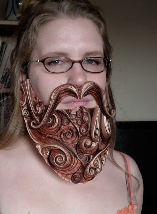 quilled beard lol: Paper Quilling, Artsy Farts, Beards Contest, Wizards Beards, Fine Art, Beards Creative, Quilling Beards, Awesome Art, Paper Beards